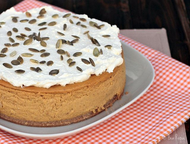 Pumpkin Cheescake by Bea Roque, via Flickr