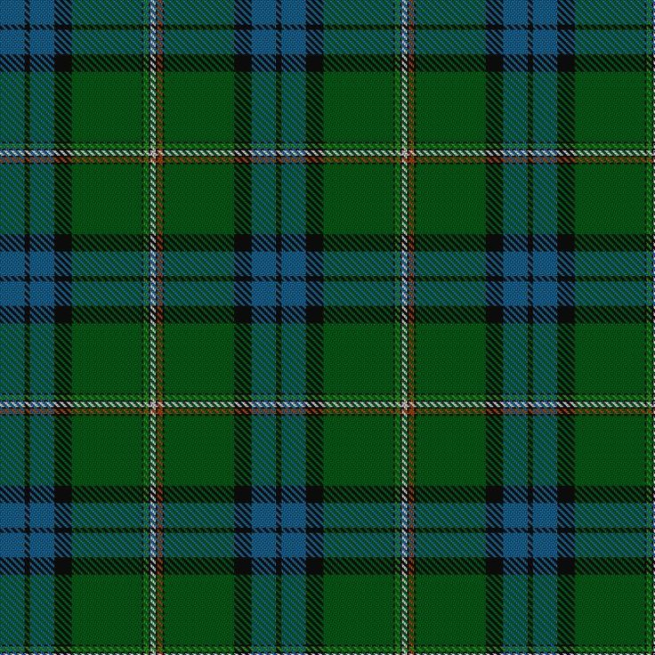 Irish Diaspora Tartan-An assymetric tartan designed by Erica Randall of The House of Edgar in Perth for all those of Irish descent at home in Ireland and around the world. The central stripes incorporate the colours of the Republic of Ireland flag.