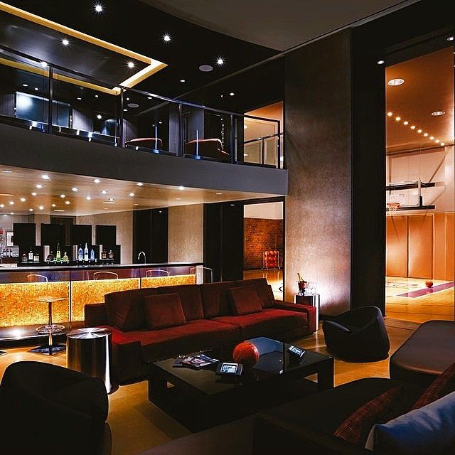 Sick Modern Mansion With An Indoor Basketball Court Tag A