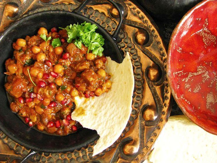 Mäso na marocký spôsob, marokkanische Fleisch