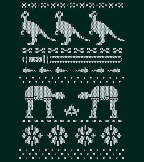 Christmas Sweater - Hoth Style.