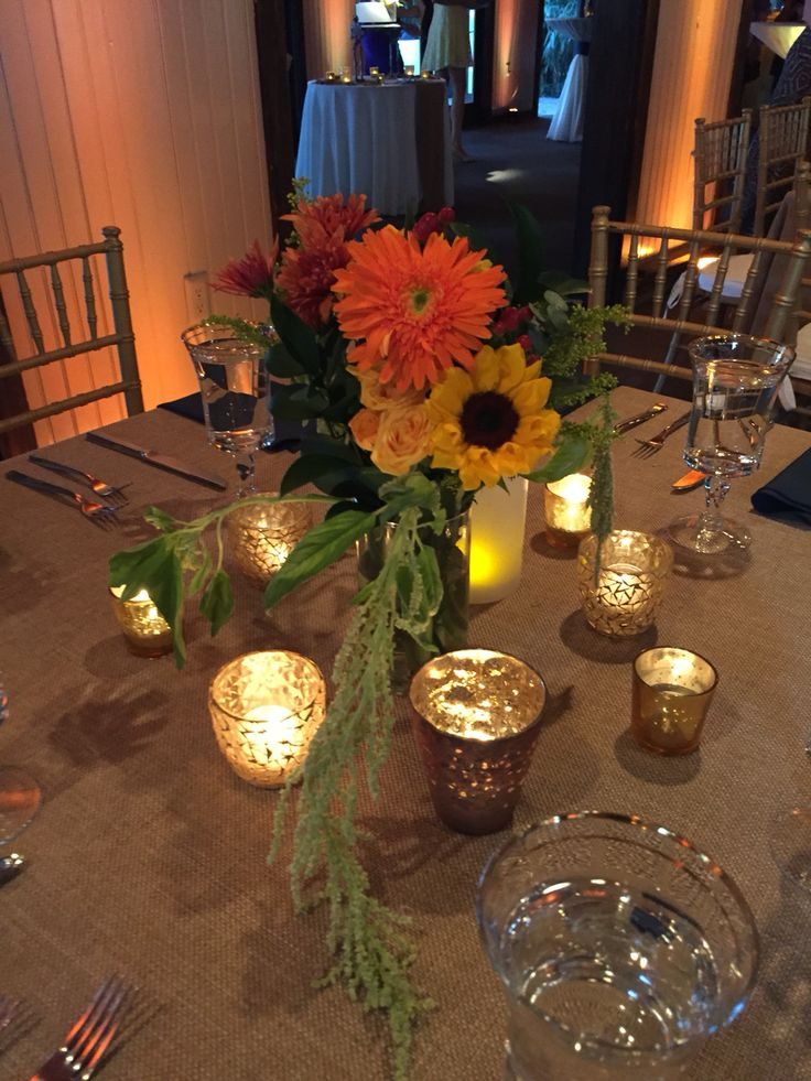 ... .com | Pinterest | Wedding arrangements, Fall wedding and Fall