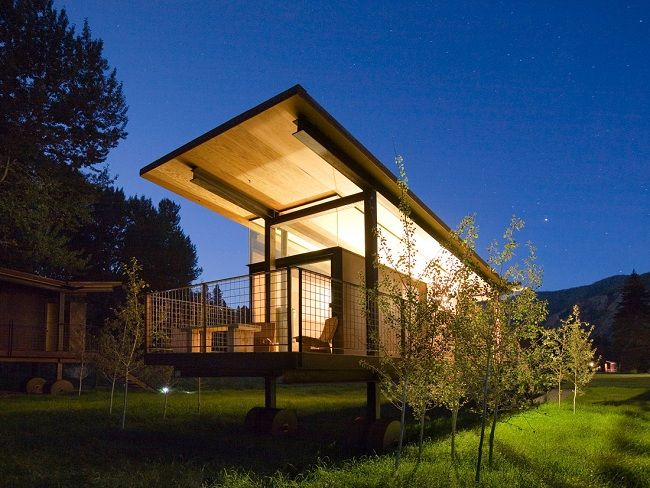 Rolling Wilderness Huts in Washington by OSKA Architects - NT Inspiration - NTcreativestudioOska Architects, Allen Architects, Cabin, Tiny House, Guest House, Small House, Design, Tiny Home, Rolls Huts