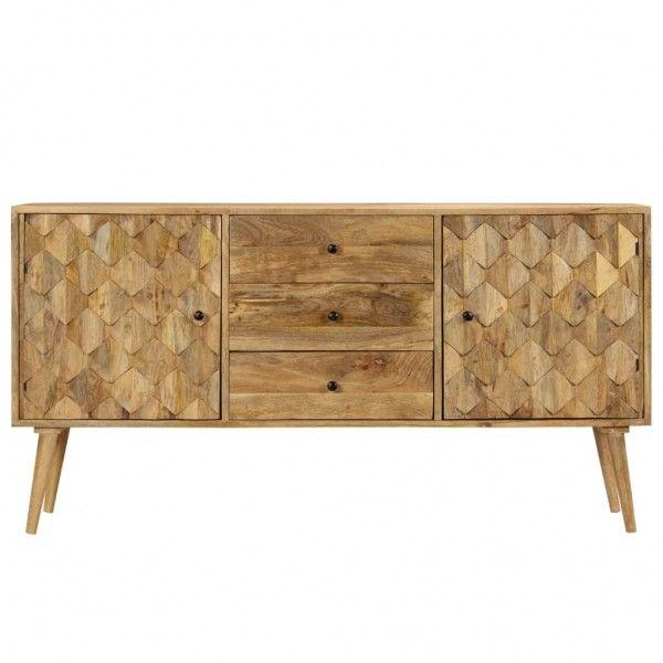 Massivholz Sideboard Mangoholz Kommode Sideboard Kommode Holz