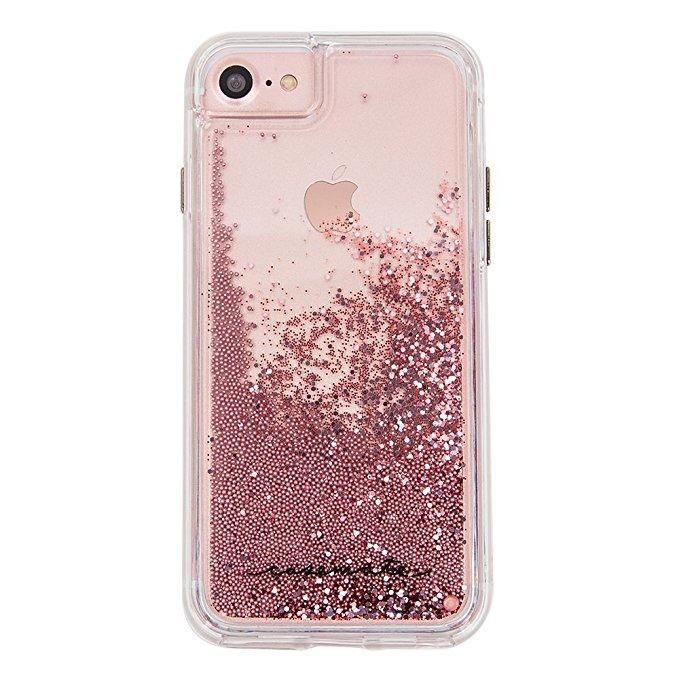 Case Mate Waterfall Case For Iphone 8 Rose Gold Glitter Iphone Case Glitter Phone Cases Glitter Case