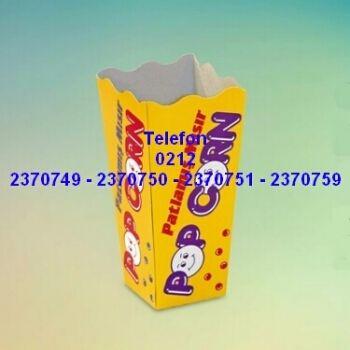 Patlamış mısır kutuları, popcorn mısır koyma külahları ve her türlü karton kutulu ambalaj malzemelerinin satışı 0212 2370749