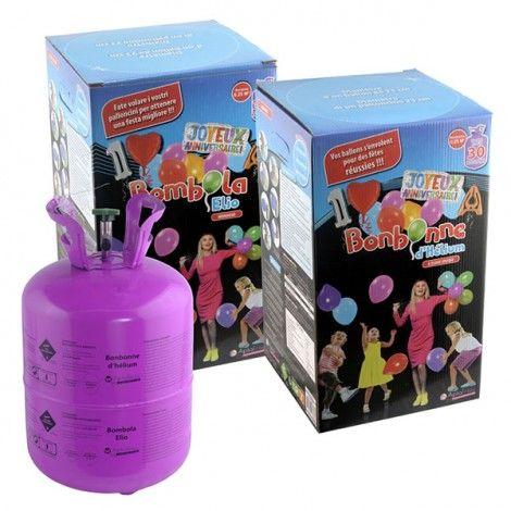Une bouteille helium pour gonfler facilement tous vos ballons et pour leur permettre de flotter. Parfaite pour un anniversaire ou un mariage, pourquoi ne pas organiser un lâcher de ballon ?  #anniversaire #ballons #helium