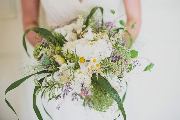 Summer bridal bouquet | www.onefabday.com