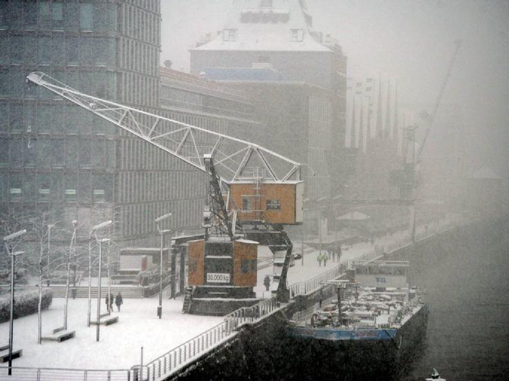 Schnee im Kölner Süden - stefan worring