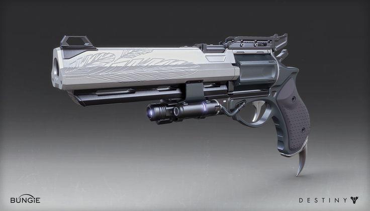 Destiny - Exotic Hand Cannon, Mark Van Haitsma on ArtStation at http://www.artstation.com/artwork/destiny-exotic-hand-cannon-7e2958ba-268a-4796-b837-ebf48194ad10