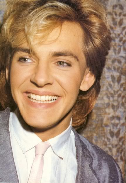 Nick Rhodes.  I had this poster up in my locker in high school :)