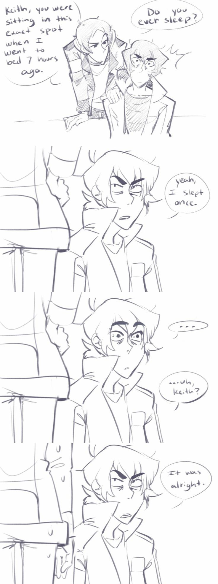 Keith / Lance **trasshes**