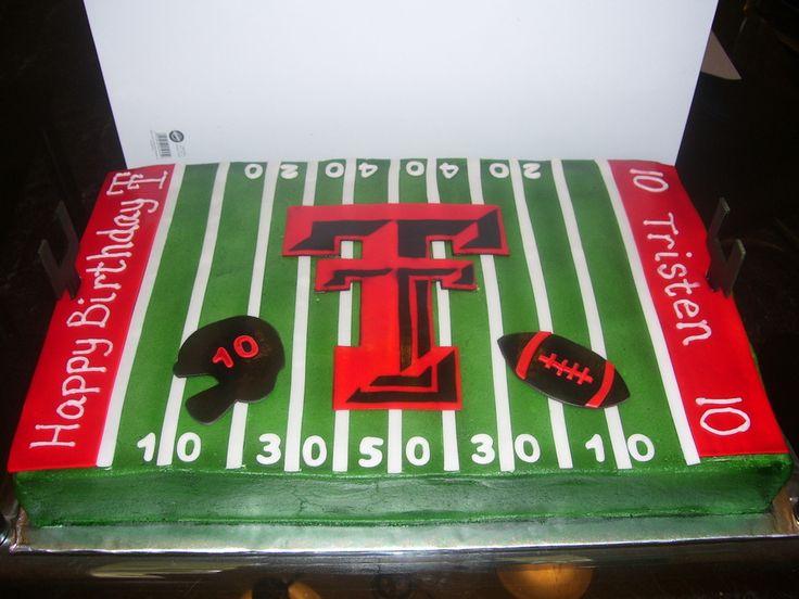 texas tech cakes | Texas Tech Football — Children's Birthday Cakes