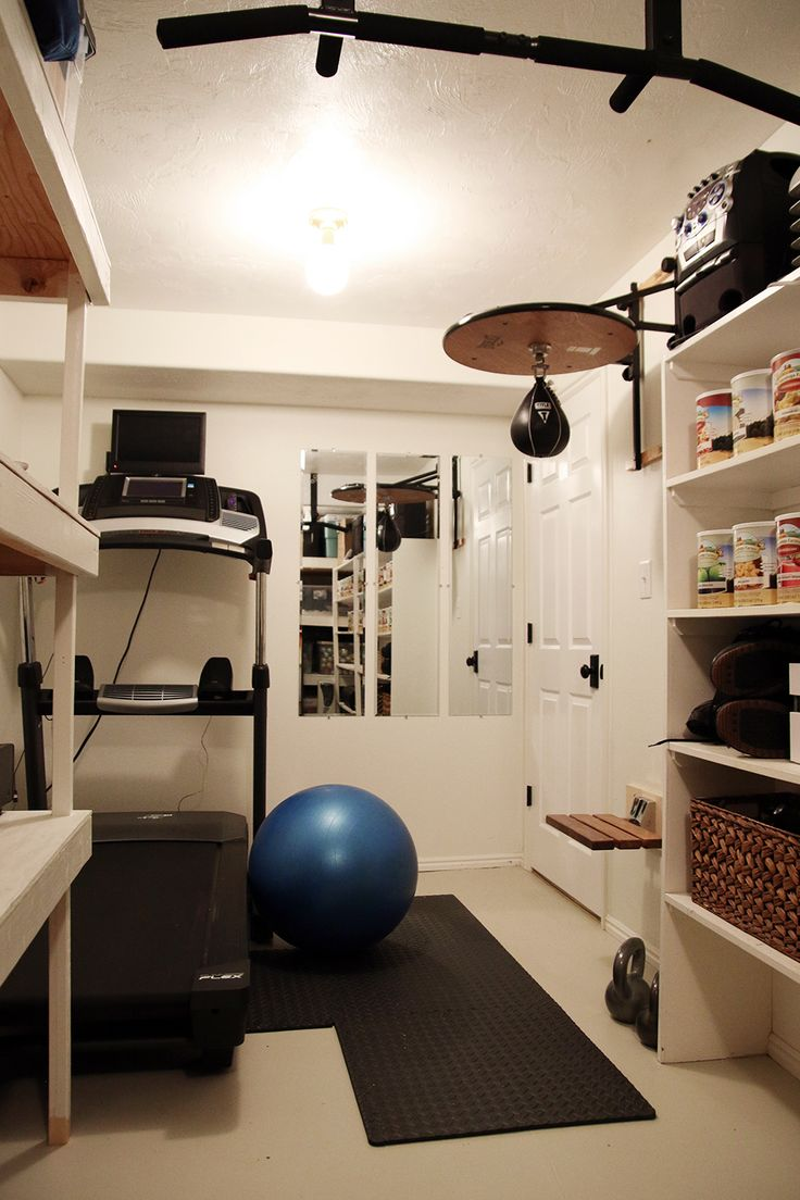 25 best ideas about small home gyms on pinterest home for Small exercise room