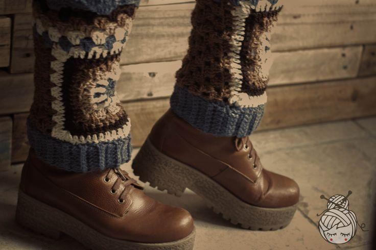 Polainas, crochet, Las Albornoz