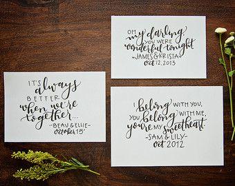 Custom Envelopes // Calligraphy Wedding Envelopes by wordsandpage