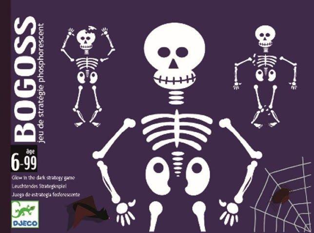 Bogoss - világító csontvázas kártyajáték (Djeco) | Pandatanoda.hu Játék webáruház