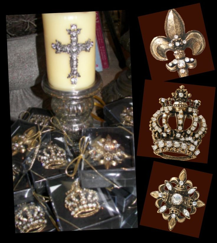 Embellished Candle Pins - Google Search