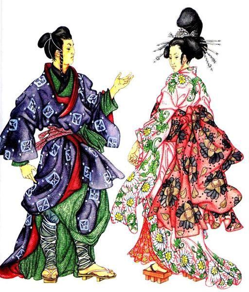 Национальный костюм японии национальная одежда франции