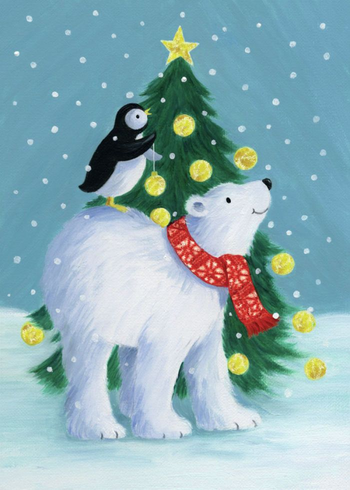 Pauline Siewert - Penguin and polar bear
