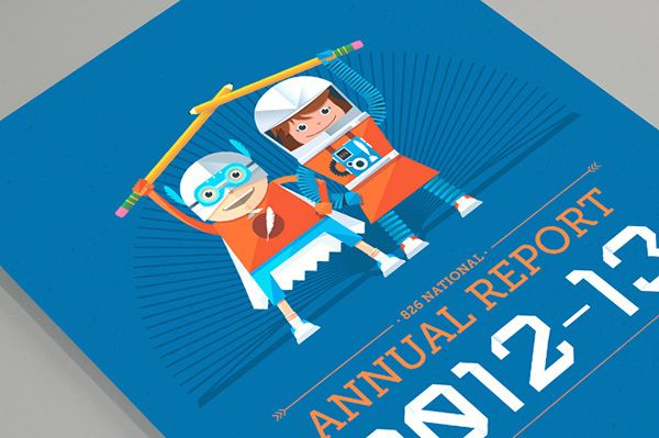 826 Nation Annual Report 12-13 on Behance