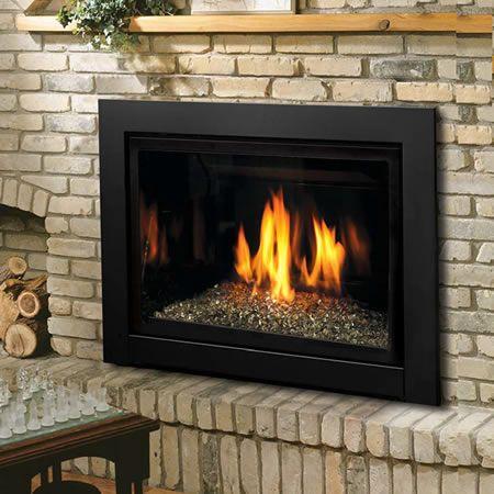 Kingsman IDV36 Direct Vent Fireplace Insert | WoodlandDirect.com: Indoor Fireplaces: Gas Inserts #LearnShopEnjoy