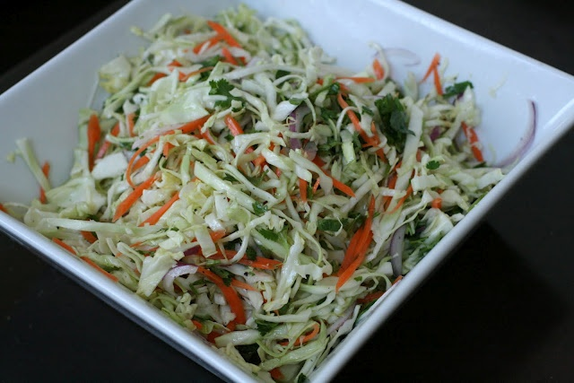Cilantro Lime Cole Slaw - Definite try for hatteras with fish tacos!