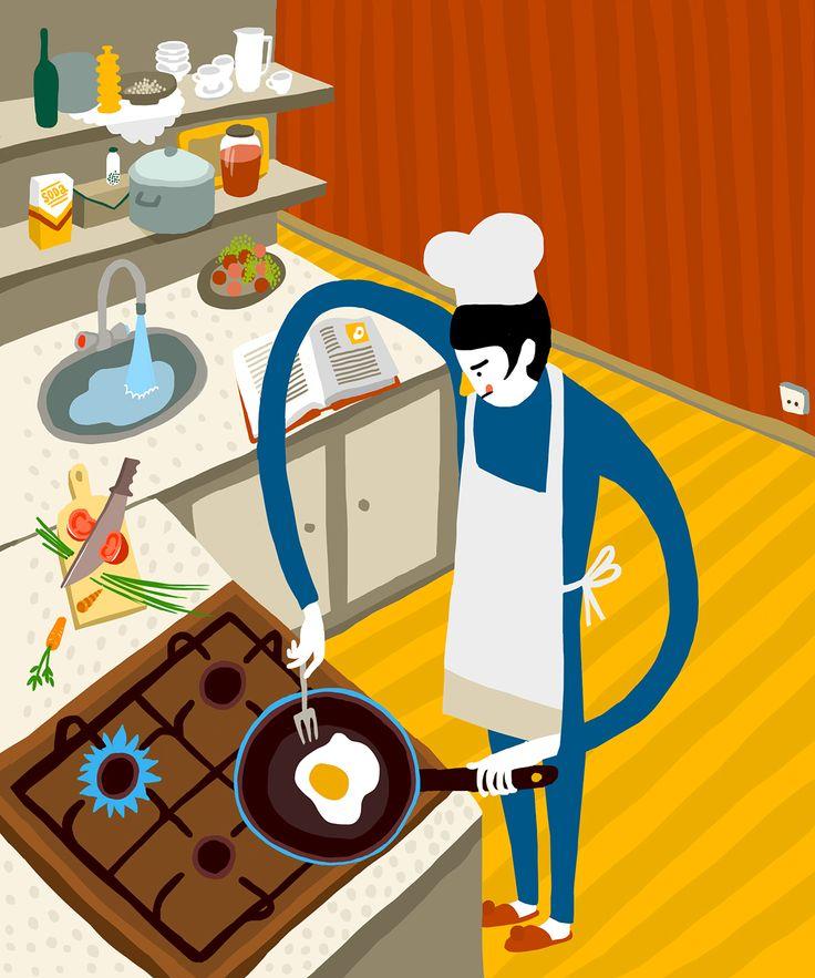 Illustration for «POINTER» magazine december'14 on Behance