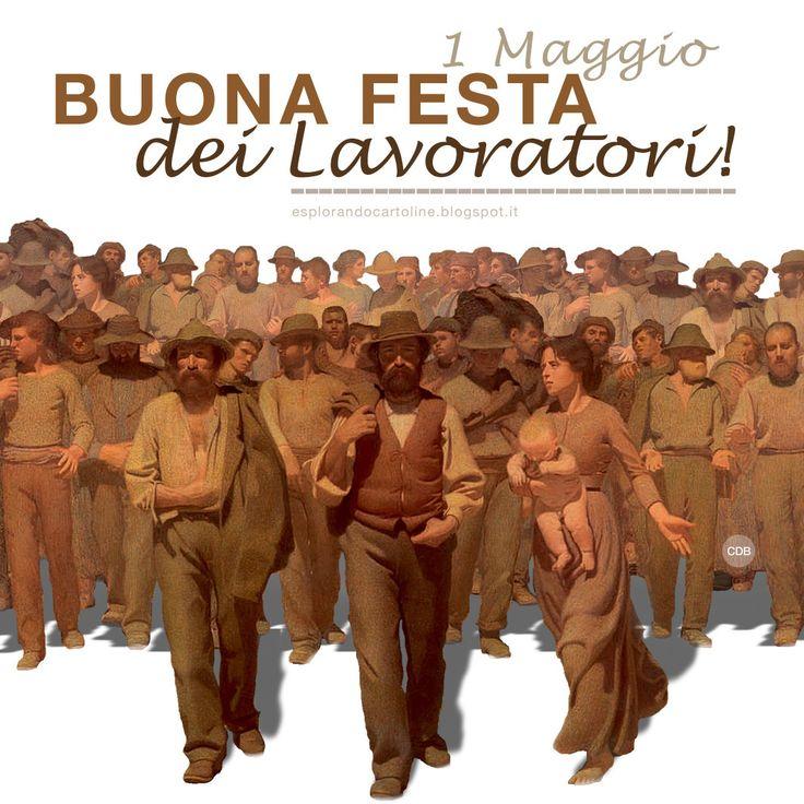 CDB CARTOLINE Compleanno per Tutti i Gusti! : Cartolina 1 Maggio 2016. Buona Festa dei Lavorator...