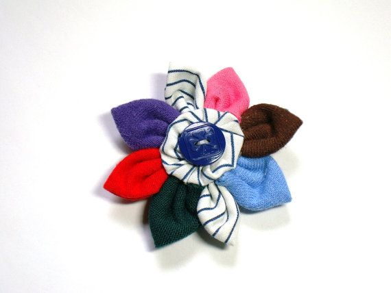 NEW!!  All branches!!! Handmade GIRL GUIDE Flower representing Sparks, Brownies, Guides, Pathfinders, Rangers, Trefoil Guild and Guiders