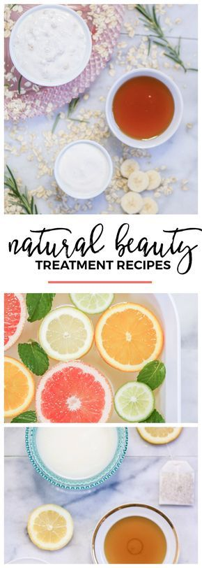 DIY natural beauty treatment recipes | Luxurious DIY spa night + easy DIY spa treatment recipes. How to make DIY lip scrub, moisturizing hair mask, soothing face mask, and chamomile hair rinse in this post. Plus, learn how to easily whiten your teeth w/ @crest 3D Whitestrips! Click through this pin to see all of the DIY recipes + skin care tips! #crest #ad | DIY beauty | DIY beauty recipes | natural beauty recipes | at home beauty treatments | at home spa treatments | easy beauty recipes