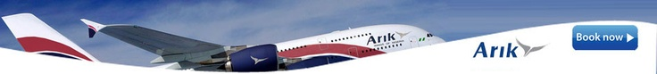 Arik Airlines Flight Sale to Nigeria. http://www.airtravelbargain.co.uk/static.action?page=arik-airlines
