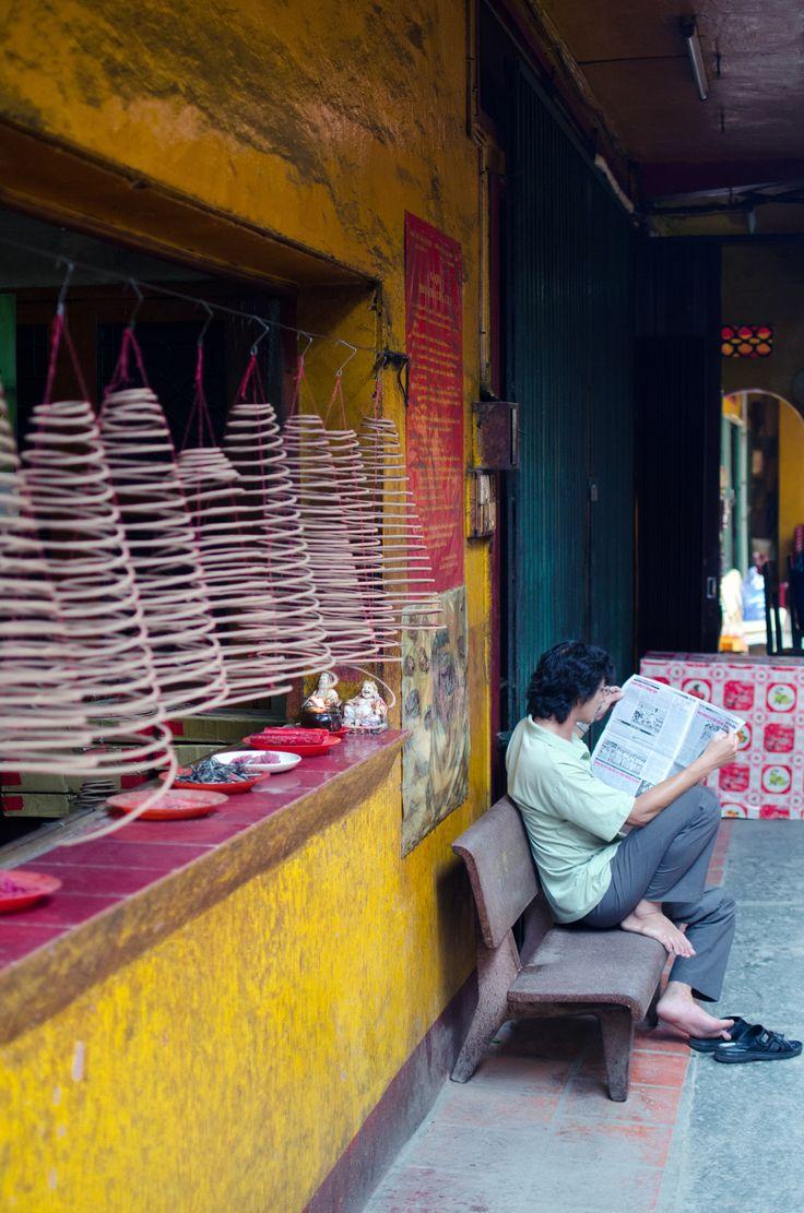 Saigon - Ben Thành Market, Press Corner Coffee, Jade Emperor Pagoda, Nhà Hàng Ngon, Rex Hotel, Xu – Restaurant Lounge, Quan Am Pagoda, Trung Nguyen Coffee, Restaurant Huong Lài, Hoa Túc, Can Tin Ga Saigon