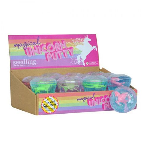 Seedling Magical Unicorn Putty – Butterfly Garden (for kids!)