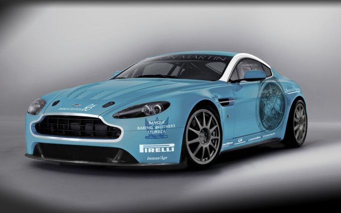image Aston Martin Returns To Race V12 Vantage