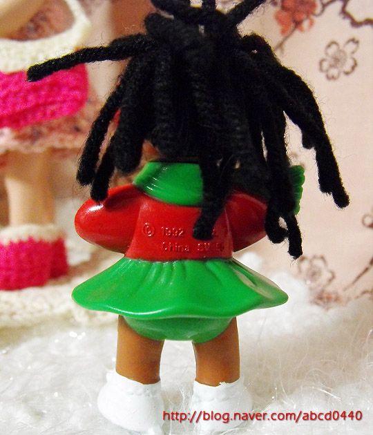 Cabbage Patch Kids miniature SV 56 (1992) - back