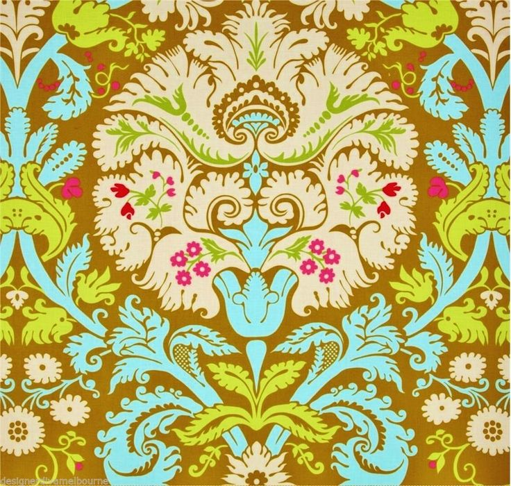 Amy Butler Belle Acanthus Duck Egg From By Amy Butler For Westminster  Fabrics, This Cotton Print Is Perfect For Quilting, Apparel And Home Décor  Accents.