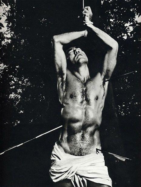 Yukio Mishima (picture above by Eikoh Hosoe)