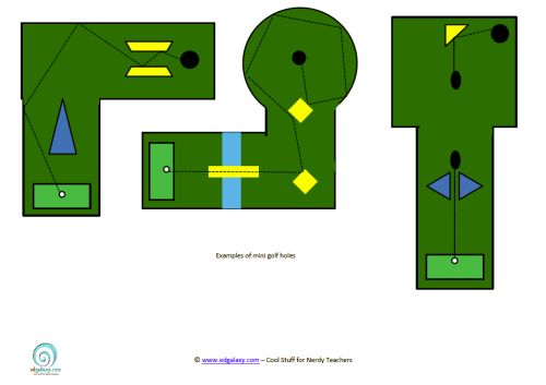 angles lesson plan  design your own mini golf course
