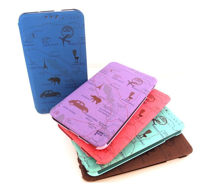 Feelook Travel Cute Flip Flip Korean Smartphone Cover for Optimus F7