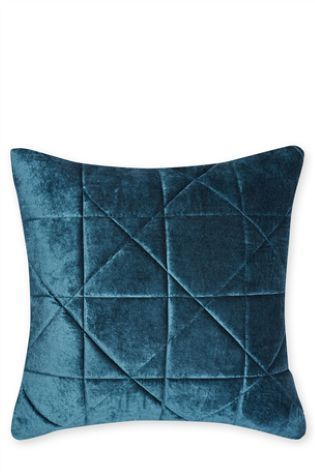 Buy Quilted Velvet Cushion online today at Next: Israel