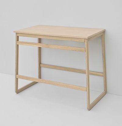 Naked System, design Meneghello Paolelli Associati. #TheArtceram Slitta whitewash oak wood frame