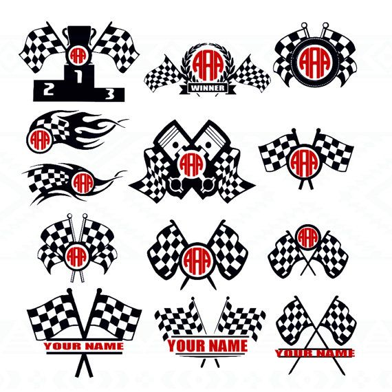 25 Best Ideas About Checkered Flag On Pinterest Monster