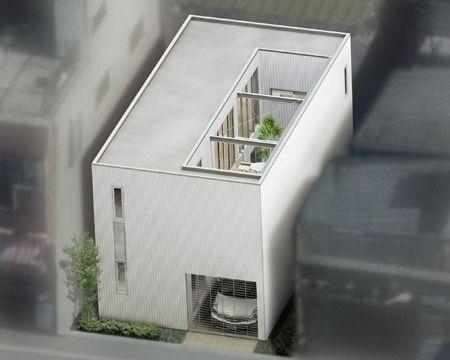 狭小住宅 モダン イメージ