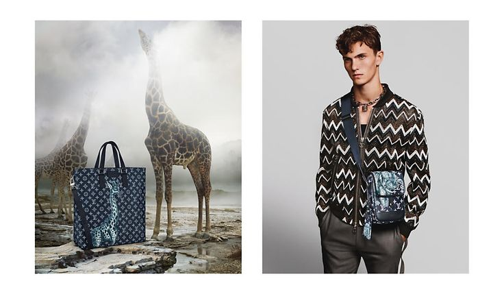 Introducing the Louis Vuitton Men's Spring-Summer 2017 Collection campaign, a punk-inflected exploration of Africa by Men's Artistic Director Kim Jones, starring #XavierDolan and photographed by #AlasdairMcLellan.
