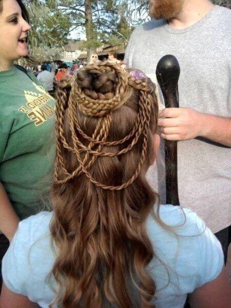 peinados,medievales,para,ninas