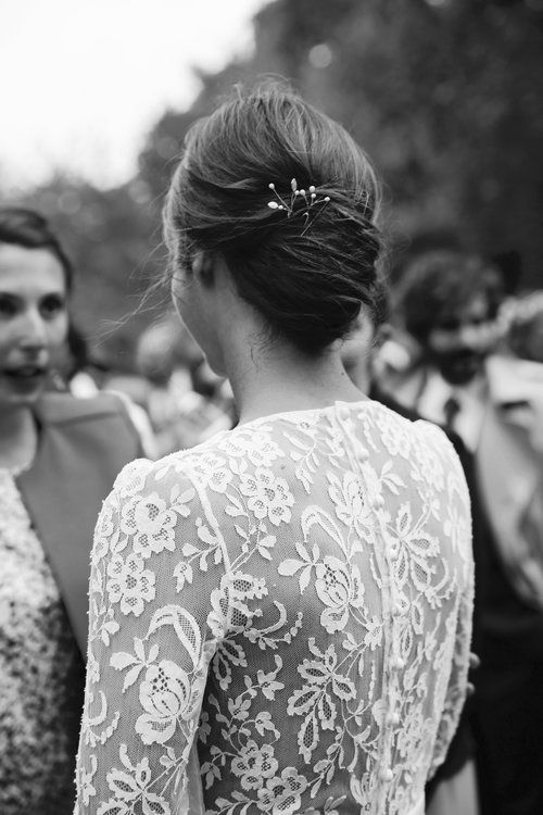 17 best ideas about chignon bas on pinterest tuto coiffure coiffure chignon and coiffure simple - Coiffure mariage chignon bas ...