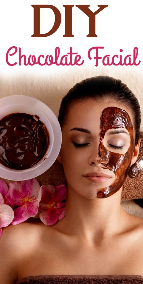 DIY Chocolate Facial- So great for wrinkles, You need: •2 tbs of cocoa powder •1 tbs of raw honey •1 1/2 tbs of organic coconut oil (melted) Make a paste with these ingredients, add a little more honey or cocoa to make it a nice consistency for your face.  Apply to your skin.  Leave on skin for 15-20 minutes.  Remove with warm water. It's so good, you can even eat the left overs :-)