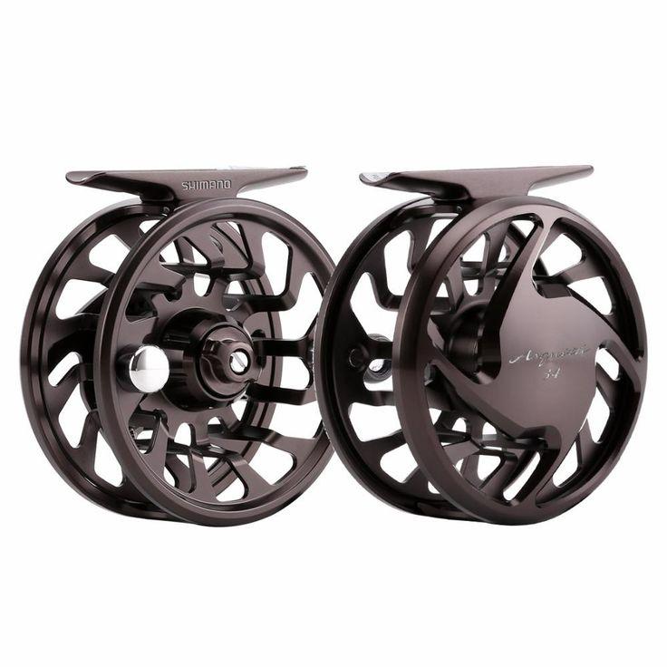 SHIMANO ASQUITH Fly Fishing reel 3/4 7/8 2+1BB 105g 235g Hagane Body Wheel metal body Saltwater Fly Fishing Reel
