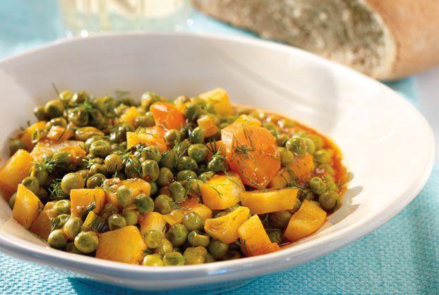Peas Casserole